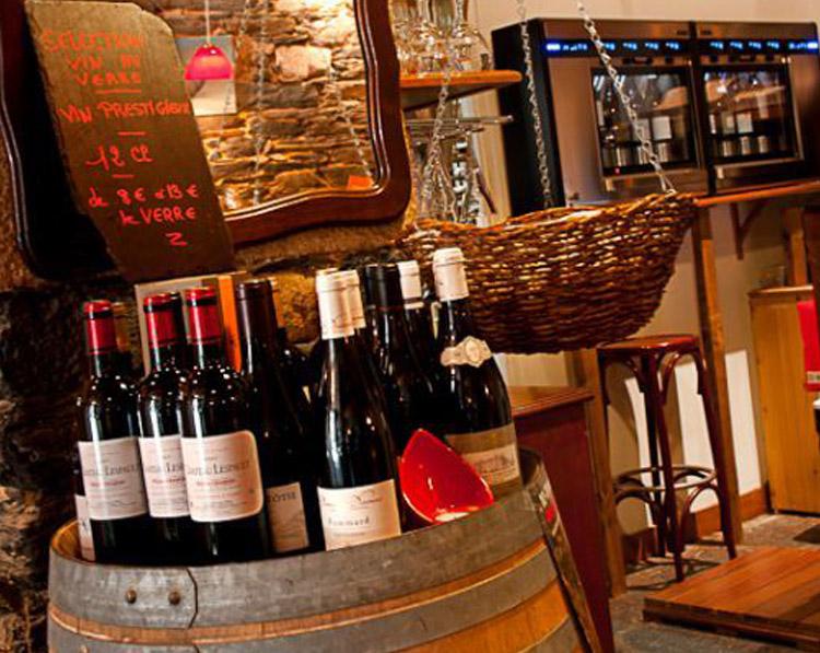 Sélection de vins du restaurant Le Viaduc